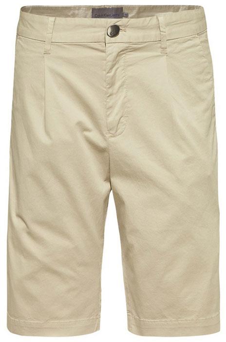 Шорты мужские Calvin Klein Jeans, цвет: бежевый. J30J307431_0240. Размер 31 (46/48) шорты женские calvin klein jeans цвет светло голубой j20j204963 размер 26 38 40