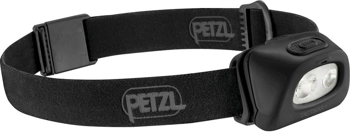 Фонарь налобный Petzl Tactikka, LED, цвет: черный petzl tactikka