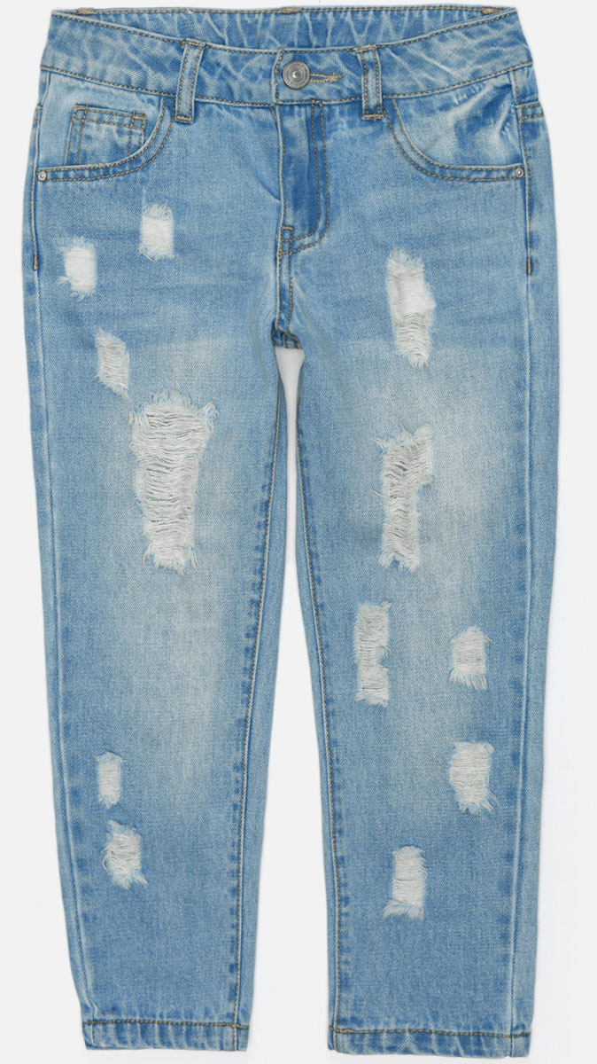 Джинсы для девочки Acoola Vudu, цвет: синий. 20220160163_700. Размер 122