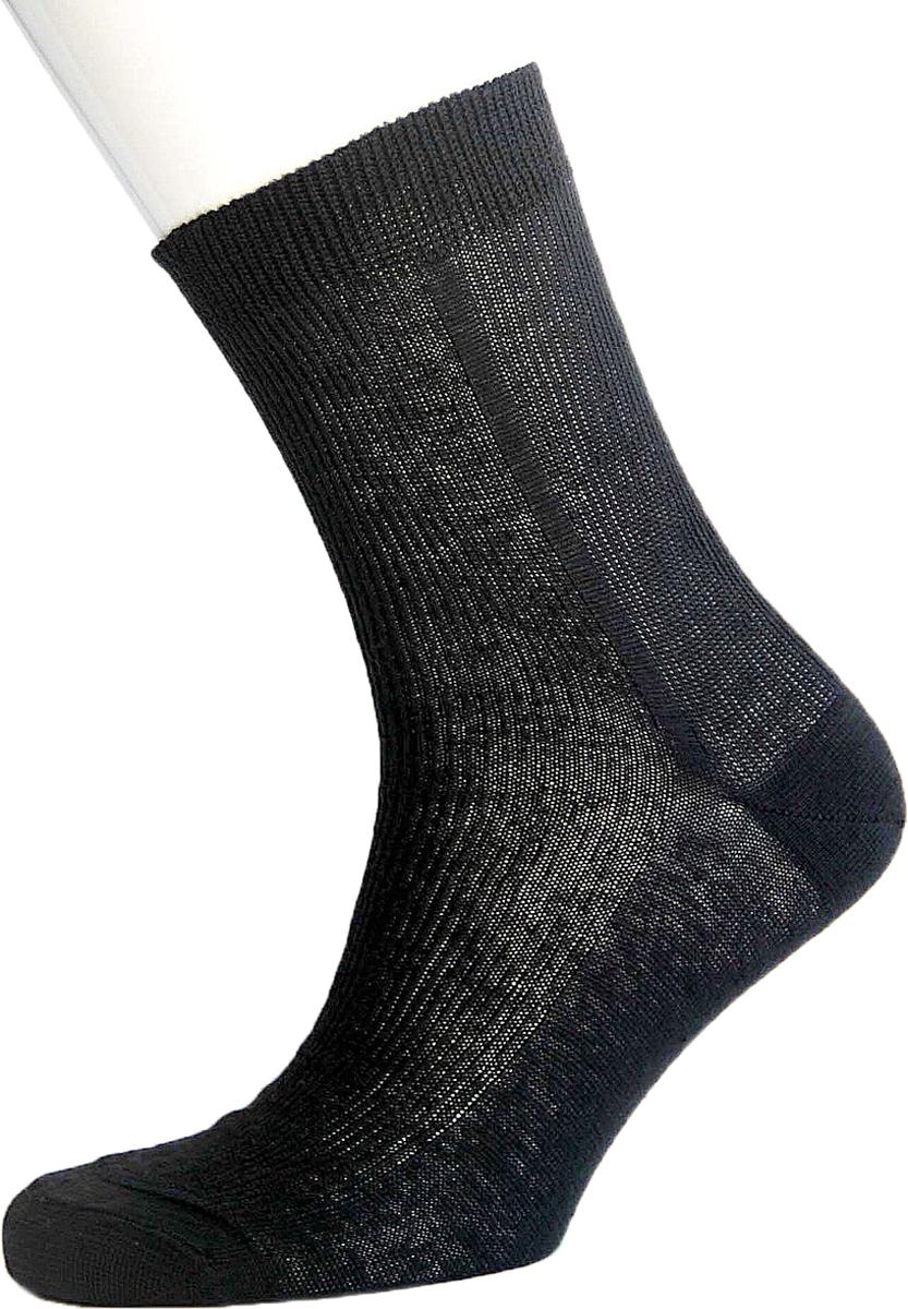 Носки мужские Гамма, цвет:  черный.  C189.  Размер 44/46 Гамма