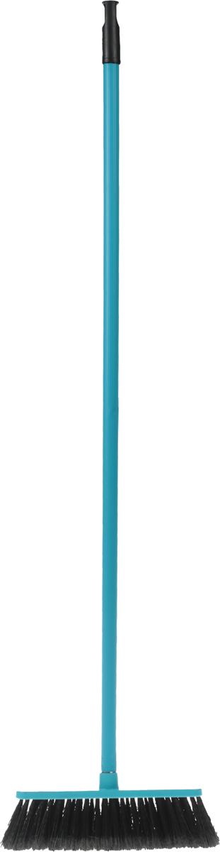 Щетка для пола Svip Арианна, с ручкой, цвет: бирюзовый щетка для пола svip бриз без ручки цвет серый 24 х 6 5 х 5 5 см
