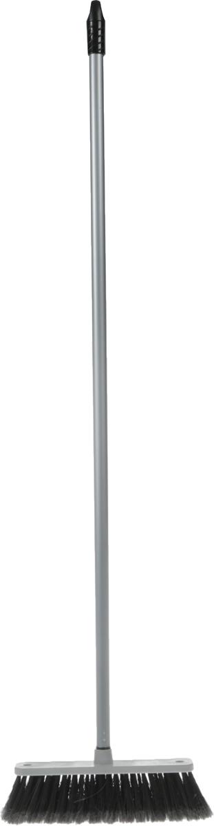 Щетка для пола Svip Арианна, с ручкой, цвет: серебряный