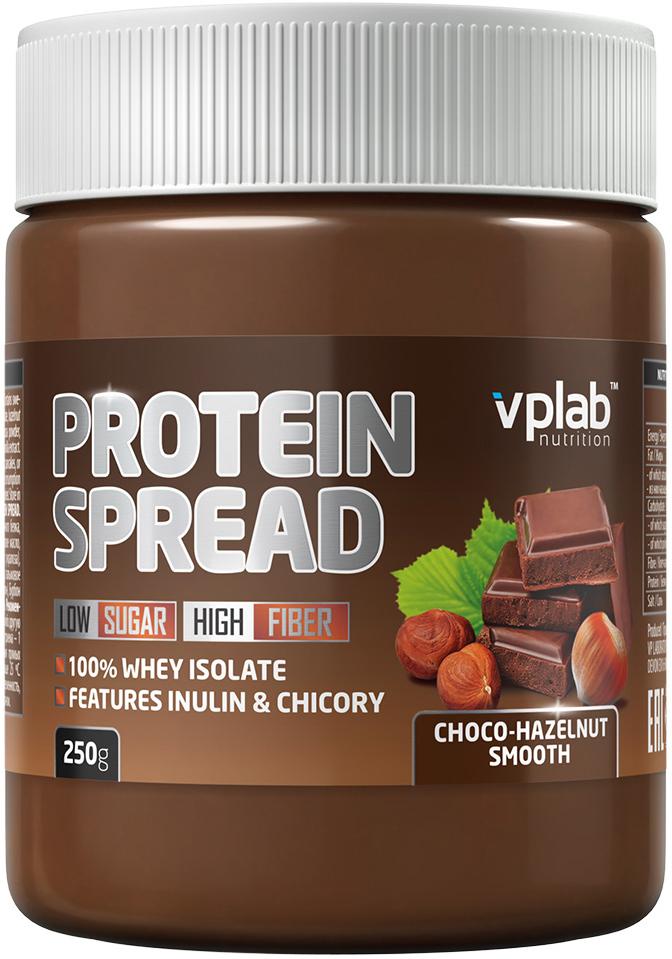 Шоколадная паста VP Laboratory Протеин Спред, шоколад, фундук, 250 г vp laboratory vp laboratory fitactive l carnitine fitness drink 500гр page 2