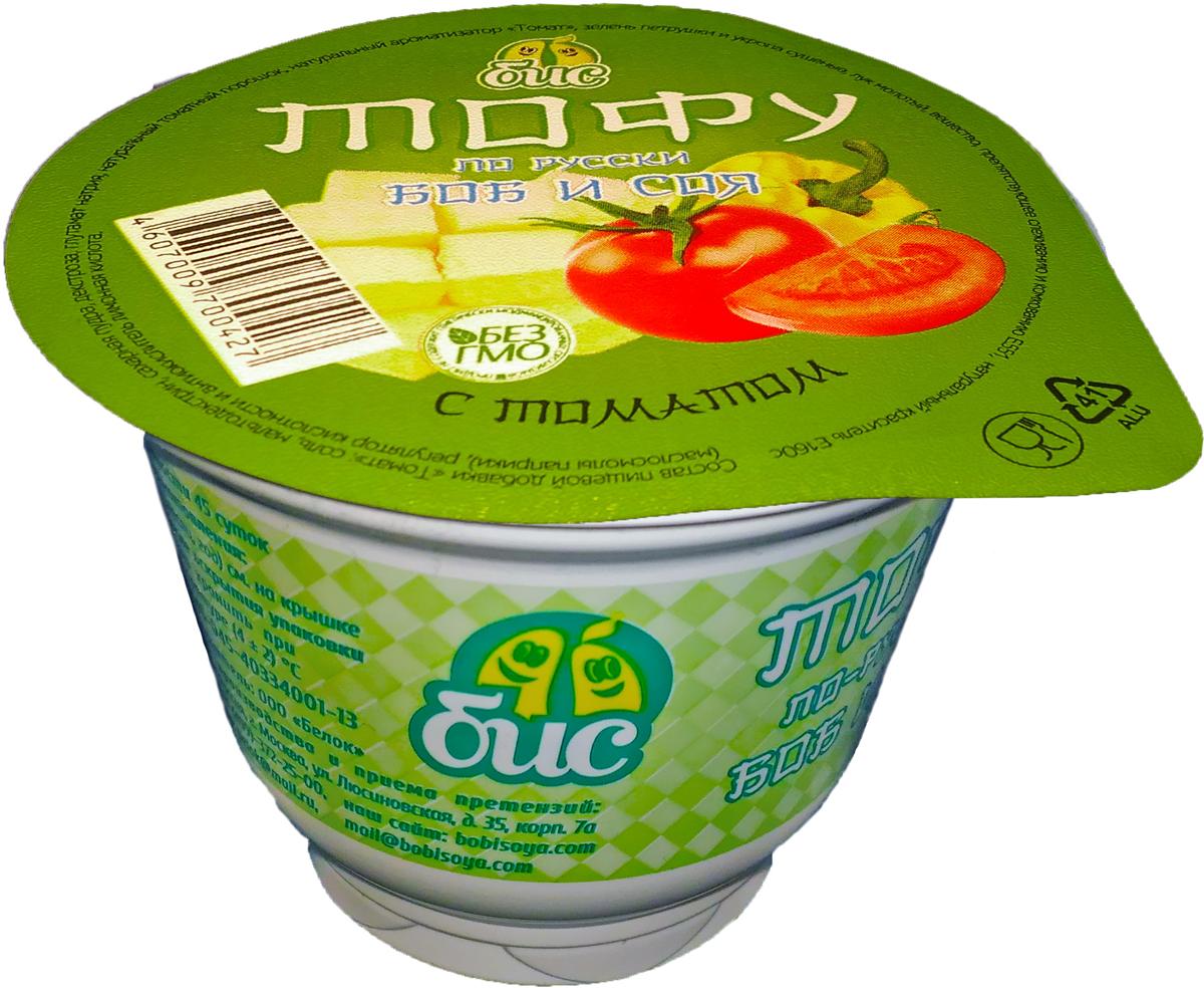 Боб и Соя Тофу по-русски с томатом соевый 5%, 150 г zagori вода природная минеральная столовая газированная 12 шт по 0 75 л стекло
