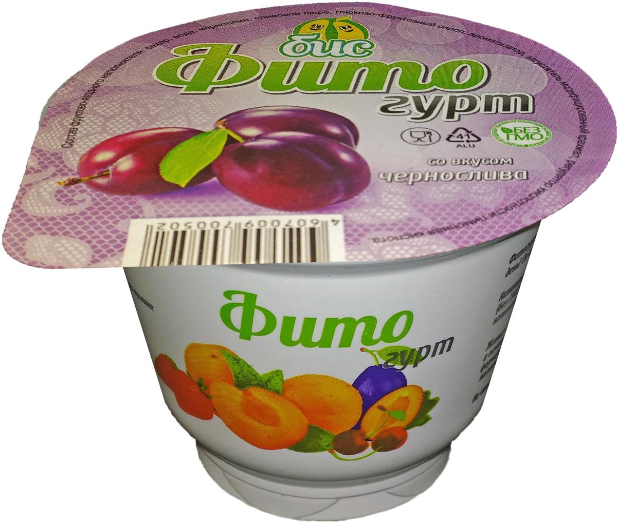 Боб и Соя Фитогурт с Черносливом, соевый 2%, 200 г цена