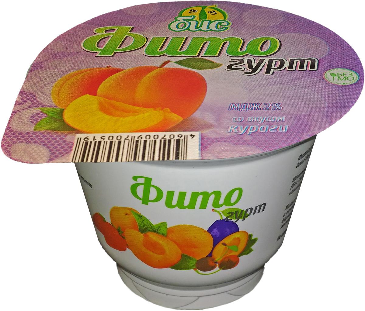 Боб и Соя Фитогурт с Курагой, соевый 2%, 200 г цена