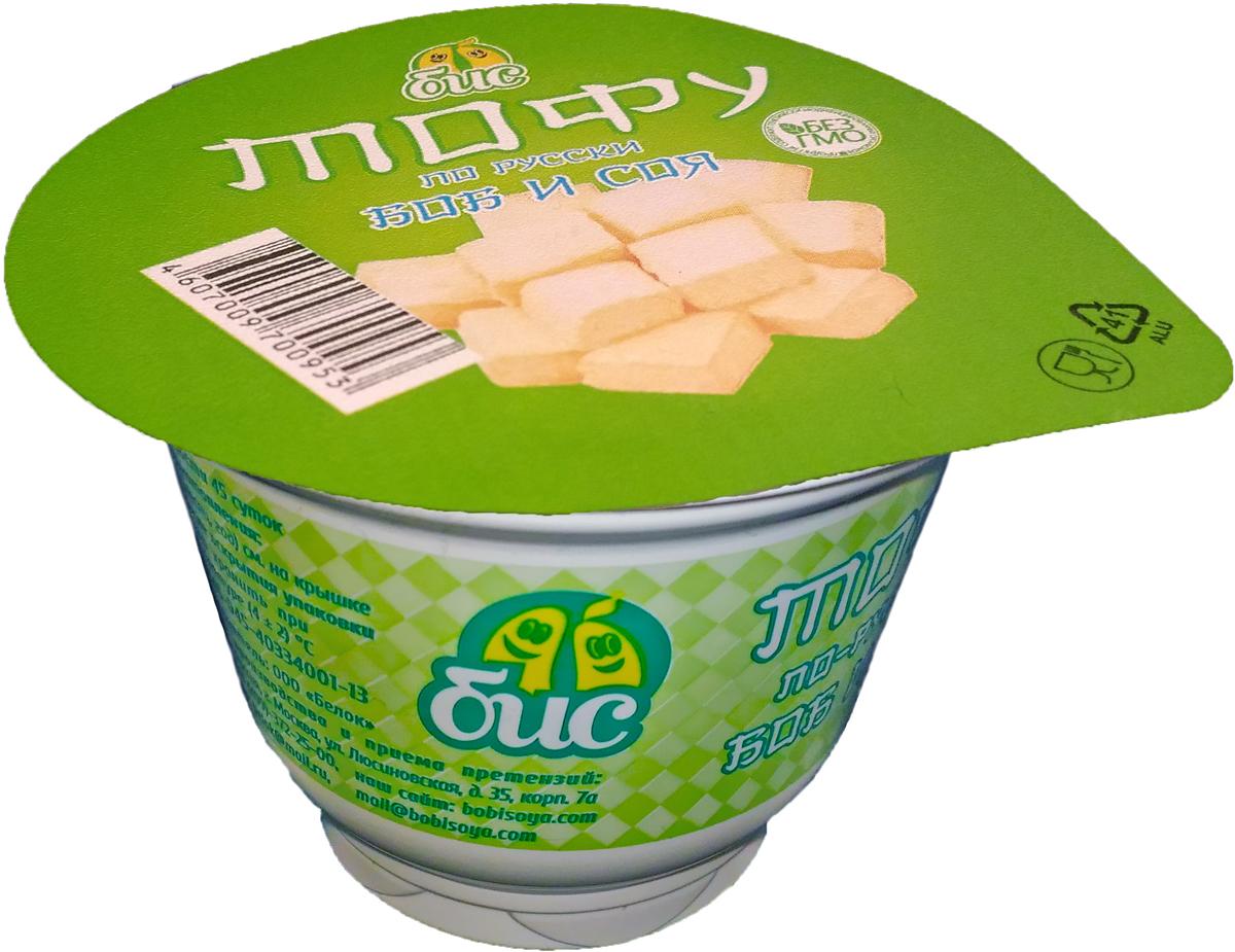 Боб и Соя Тофу по-русски, 5%, 150 г боб и соя крем соевый сметанный 10