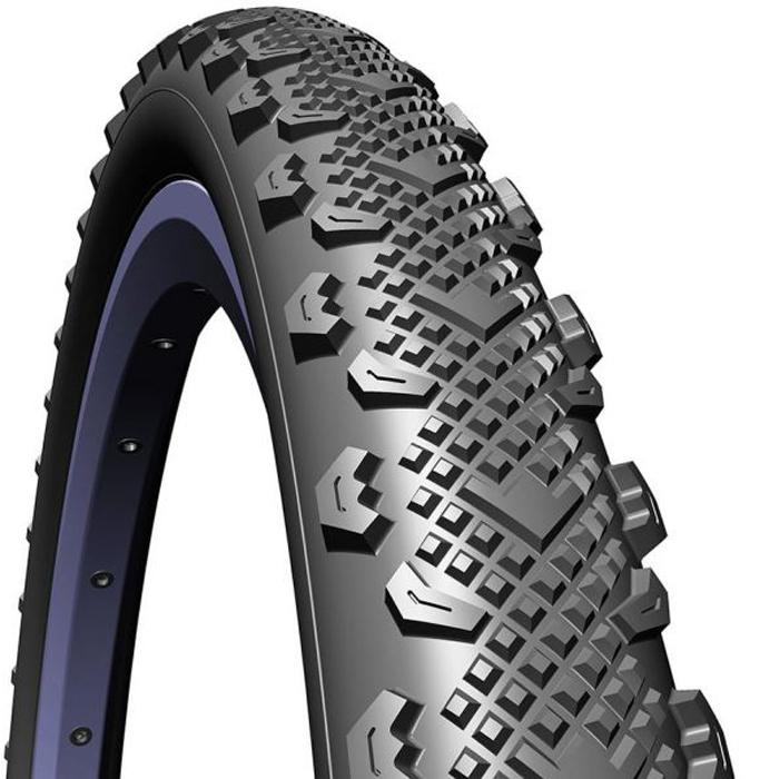 Покрышка велосипедная Mitas V45 Winner, цвет: черный, 26 x 1,90
