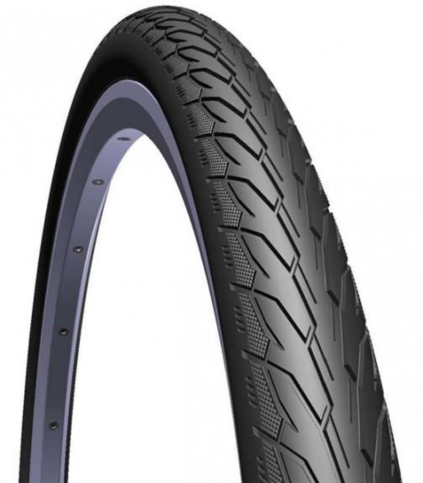 Покрышка велосипедная Mitas V66 Flash, цвет: черный, 700 x 40C