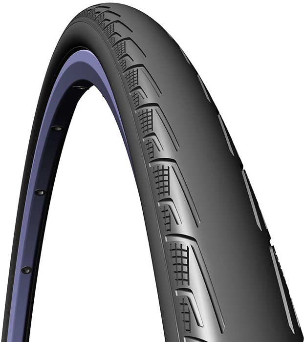 Покрышка велосипедная Mitas V80 Syrinx, цвет: черный, 700 x 25C