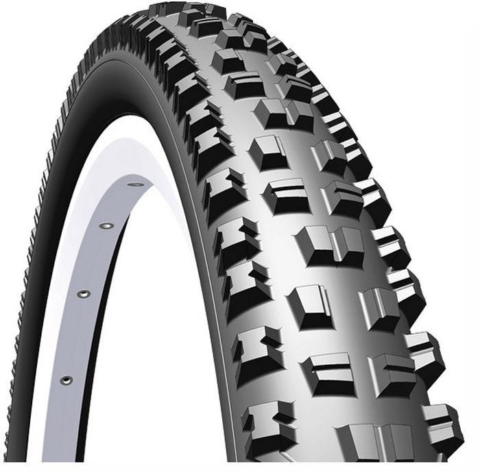 Покрышка велосипедная Mitas R08 Triton, цвет: черный, 26 x 2,25