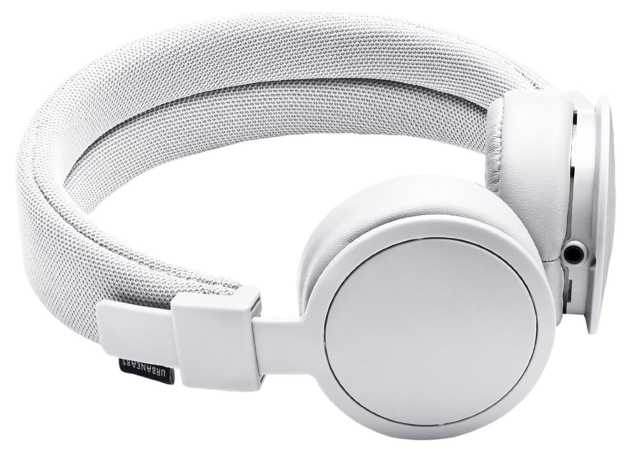 Urbanears Plattan ADV Wireless, White наушники15119849Bluetooth-наушники Plattan ADV Wireless оснащены встроенным микрофоном, имеют световой индикатор состояний на чашке излучателя и готовы работать 14 часов без подзарядки. Plattan ADV оснащены съемным оголовьем и амбушюрами, которые можно подвергать машинной стирке вместе с одеждой. ZoundPlug - это разъем, позволяющий поделиться вашей музыкой с другом. Просто подключите его наушники к вашим Plattan ADV Wireless через свободный порт.
