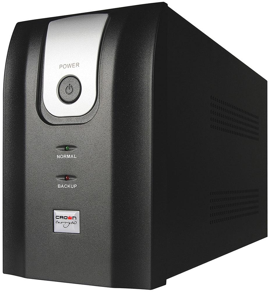 Crown Micro CMU-1000X 1000VA\600W ИБПCMU-1000XЭтот источник бесперебойного питания CROWN серии CMU-Х, является бюджетным, но в тоже время надёжным решением для защиты персональных компьютеров от большинства дефектов электросети.