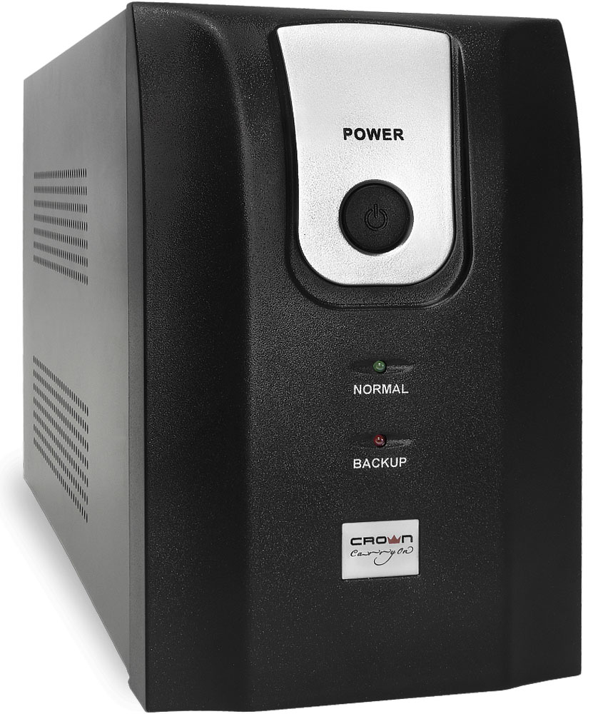 Crown Micro CMU-1500XIEC USB 1500VA/900W ИБПCMU-1500XIECЭтот источник бесперебойного питания CROWN серии CMU-Х, является бюджетным, но в тоже время надёжным решением для защиты персональных компьютеров от большинства дефектов электросети.