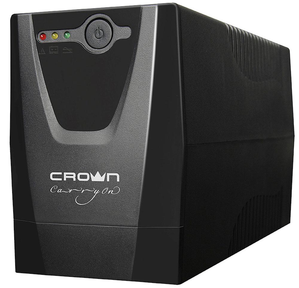Crown Micro CMU-500X 500VA\240W ИБП источник бесперебойного питания crown cmu 650xiec 600 ва 300 вт off line 3 х iec 320 12v 7ah х