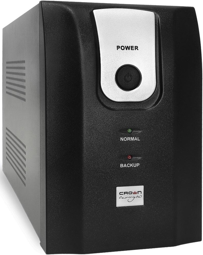 Crown Micro CMU-850ХIEC USB 850VA/510W ИБП источник бесперебойного питания crown cmu 500xiec