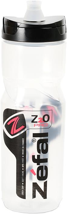 Фляга велсипедная Zefal Z2O PRO 80, цвет: прозрачный, 800 мл тележка для фляги в твери