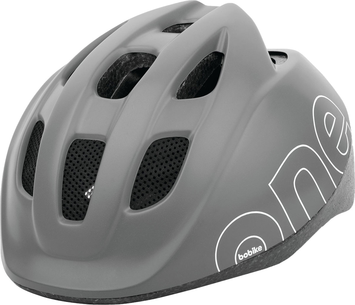 """Шлем велосипедный Bobike """"One Urban Grey"""", детский, цвет: серый. Размер XS (46-53 см)"""