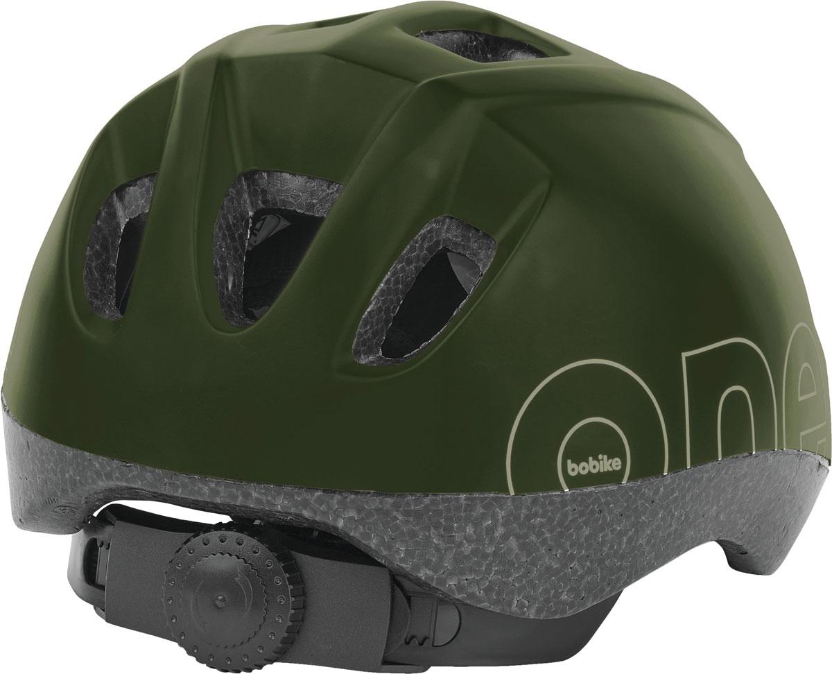 Шлем велосипедный Bobike One Olive Green, детский, цвет: зеленый. Размер XS (46-53 см)8740200030Девиз Bobike – просто безопасно! Важнейшей частью безопасного катания на велосипеде является шлем. Серия шлемов Bobike ONE – это качественные шлемы доступные в цветах кресел Bobike ONE. Вы сможете подобрать шлем отлично дополняющий Ваше кресло, велосипед и образ в целом. Лёгкая конструкция с улучшенной защитой затылка. 9 вентиляционных отверстий обеспечивают великолепную циркуляцию воздуха. Каждое вентиляционное отверстие закрыто противомоскитной сеткой, защищая голову от летящих насекомых. Шлем имеет регулировку размера для идеальной подгонки посадки шлема под голову вашего ребёнка и светоотражающую наклейку на затылке, увеличивающую заметность ребёнка на дороге. • Цвета в стиле кресел Bobike ONE• 9 вентиляционных отверстий• Регулировка размера на затылке• Светоотражающай элемент, для лучше заметности на дороге• Возраст от 1 до 6 лет• Размер XS: от 48 до 53 см• Вес: 230 г.