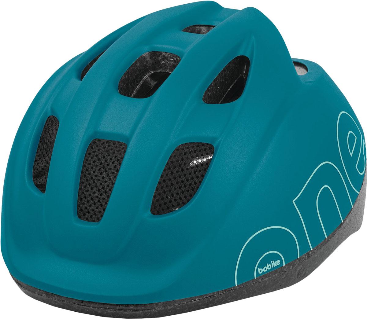 Шлем велосипедный Bobike One Bahama Blue, детский, цвет: голубой. Размер XS (46-53 см)