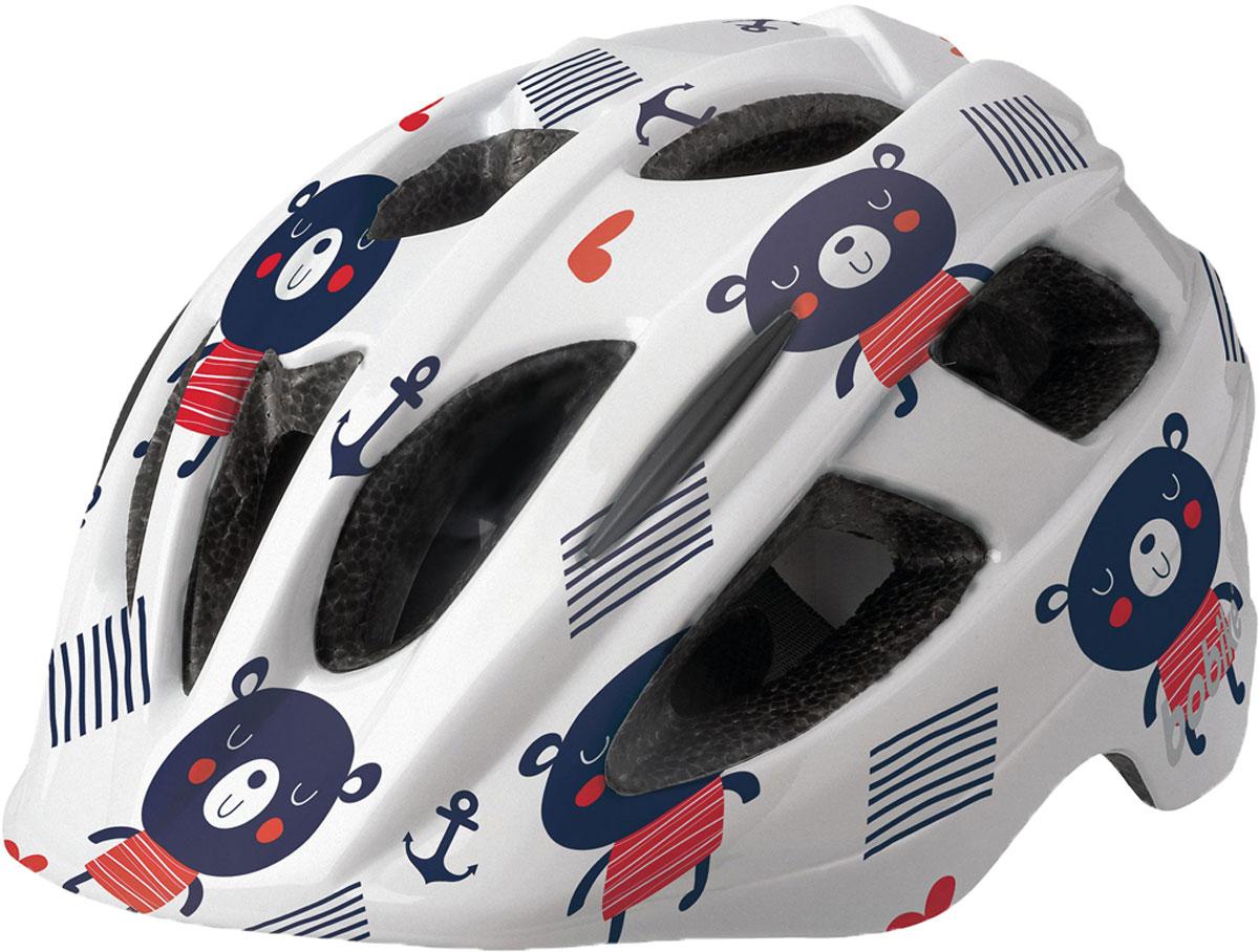 Шлем велосипедный Bobike Plus Teddy Bear, детский, цвет: голубой. Размер XS (46-53 см)8740200038Под ярким и запоминающимся дизайном Bobike PLUS, который обязательно понравится вашим детям, скрывается прочная и лёгкая конструкция ин-молд и форма с улучшенной защитой затылка. 16 вентиляционных отверстий обеспечивают великолепную циркуляцию воздуха. Каждое вентиляционное отверстие закрыто противомоскитной сеткой, защищая голову от летящих насекомых. Шлем имеет регулировку размера для идеальной подгонки посадки шлема под голову вашего ребёнка и светоотражающую наклейку на затылке, увеличивающую заметность ребёнка на дороге.• Конструкция ин-молд• 3 великолепных запоминающихся дизайна• 16 вентиляционных отверстий• Регулировка размера на затылке• Светоотражающай элемент, для лучше заметности на дороге• Возраст от 1 до 6 лет• Размер XS: от 48 до 53 см• Вес: 230 г.