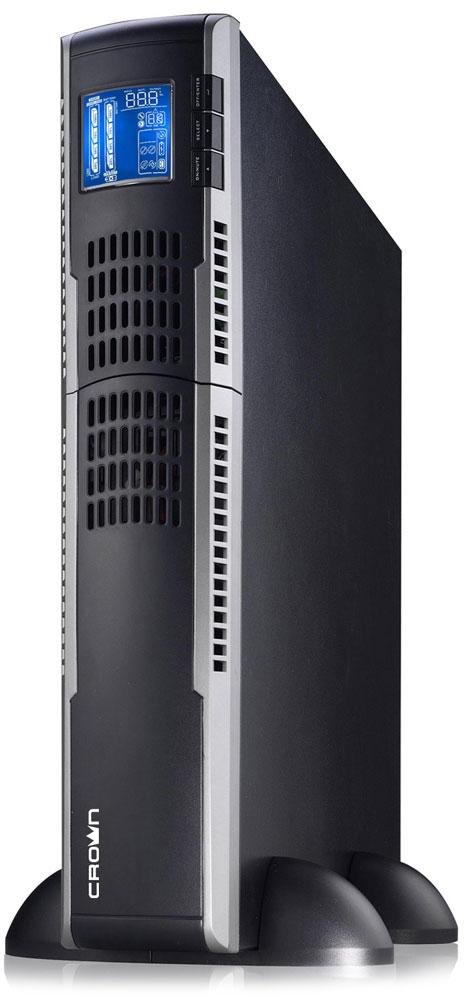 Crown Micro CMUOA-300X-1K 1000VA/900W ИБПCMUOA-300X-1KЭта серия ИБП класса On-Line предназначены для защиты серверов, групп компьютеров, сетевых коммутаторов, ЦОД и другого ответственного вычислительного и телекоммуникационного оборудования, требующего высокого качества электропитания. Наличие дополнительных батарейных кабинетов позволяет увеличить время работы при отсутвии напряжения во входной электросети