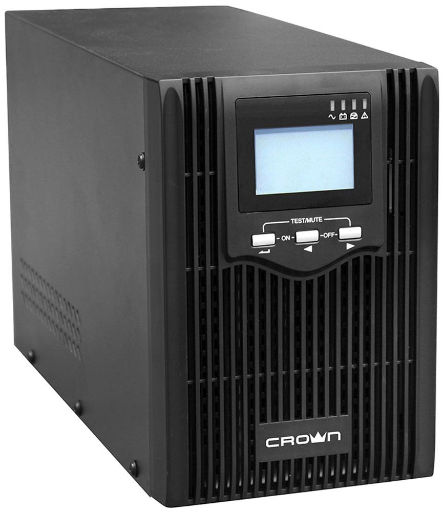 Crown Micro CMUS-610 1000VA/800W ИБПCMUS-610Новое поколение линейно-интерактивных ИБП, которые предназначены для защиты серверов и другого оборудования критичного к форме питающего напряжения от основных неполадок с электропитанием: высоковольтных импульсов, электромагнитных и радиочастотных помех, понижений, повышений и полного исчезновения напряжения в электросети. Возможность использования SNMP-карты делают не заменимыми эти ИБП для защиты ответственного вычислительного и телекоммуникационного оборудования.