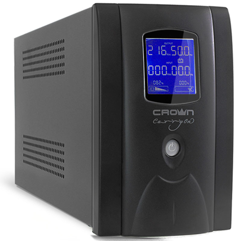 Crown Micro CMU-SP1200EURO LCD USB 1200VA\720W ИБП crown micro cmu 850хiec usb 850va 510w ибп