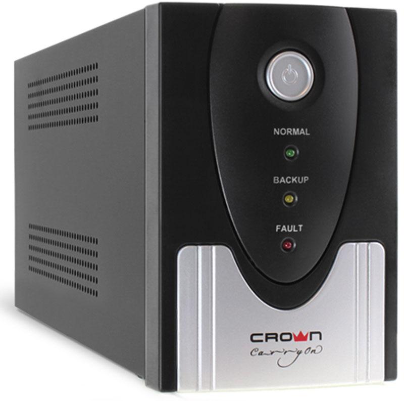 Crown Micro CMU-SP1200EURO USB 1200VA\720W ИБП - Источники бесперебойного питания (UPS)