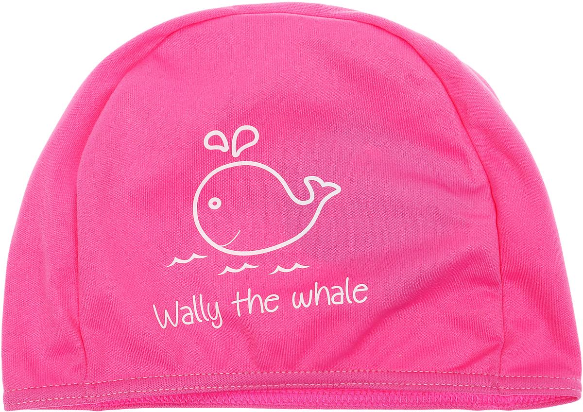 Шапочка для плавания Fashy Polyester Kids Printed Cap, цвет: розовый шапочка для плавания fashy babble cap цвет розовый