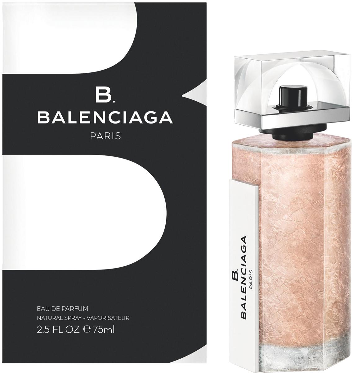 Balenciaga B. Парфюмерная вода женская, 75 мл71788091000Первый аромат Balenciaga от Alexander Wang, свежий древесный аромат, изысканный и утонченный. Воплощает стиль женщины Balenciaga - современная женственность, изящная элегантность. Если Вам нравится сочетание прохлады свежих нот и чувственности мускусного шлейфа - B. Balenciagа не оставит Вас равнодушной! На границе классики и авангарда Balenciaga создает новую парфюмерную историю B. Balenciaga. Изящный и благородный, аромат отражает суть современной героини Balenciaga.ВЕРХНИЕ НОТЫ: Аккорды зеленых соевых бобов, Лилия.СРЕДНИЕ НОТЫ: Фиалковый корень, Кедр.ШЛЕЙФ: Мускатный зарна, Кашмеран.