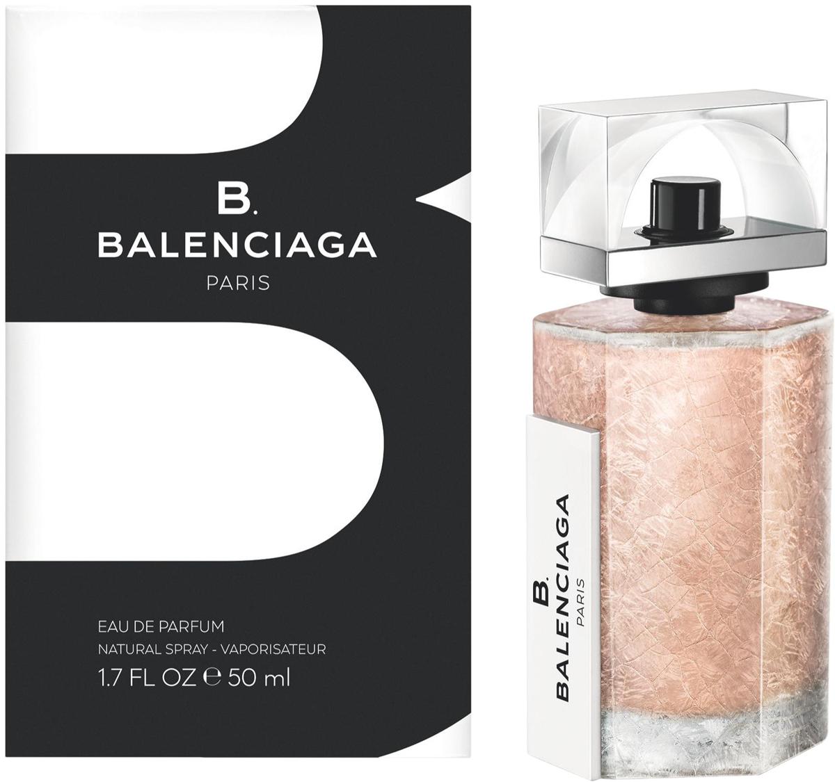 Balenciaga B. Парфюмерная вода женская, 50 мл71990006000Первый аромат Balenciaga от Alexander Wang, свежий древесный аромат, изысканный и утонченный. Воплощает стиль женщины Balenciaga - современная женственность, изящная элегантность. Если Вам нравится сочетание прохлады свежих нот и чувственности мускусного шлейфа - B. Balenciagа не оставит Вас равнодушной! На границе классики и авангарда Balenciaga создает новую парфюмерную историю B. Balenciaga. Изящный и благородный, аромат отражает суть современной героини Balenciaga.ВЕРХНИЕ НОТЫ: Аккорды зеленых соевых бобов, Лилия.СРЕДНИЕ НОТЫ: Фиалковый корень, Кедр.ШЛЕЙФ: Мускатный зарна, Кашмеран.