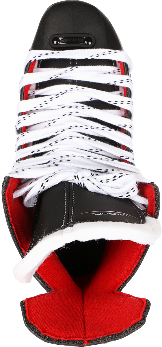 """Коньки хоккейные для мальчика Bauer """"Vapor X300"""", цвет: черный. 1050597. Размер 38,5"""
