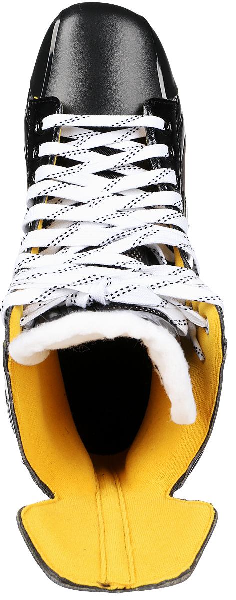 """Коньки хоккейные мужские Bauer """"Supreme S150"""", цвет: черный. 1048623. Размер 47"""