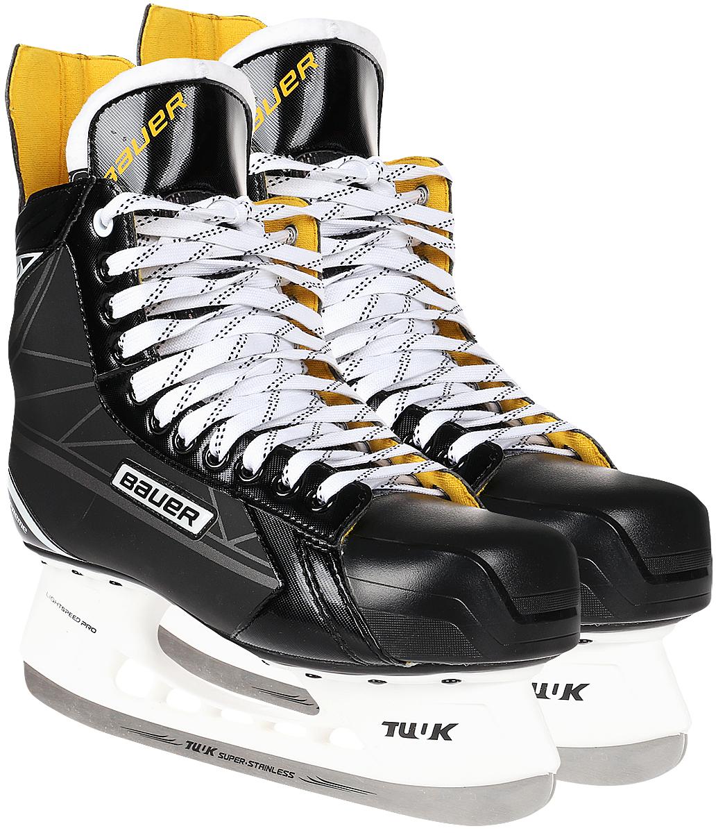 Коньки хоккейные мужские Bauer Supreme S150, цвет: черный. 1048623. Размер 47