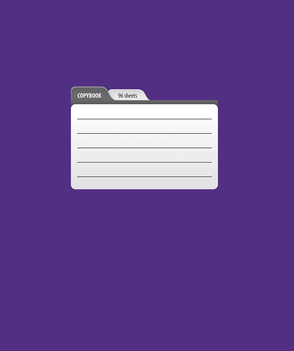 Magic Lines Тетрадь Пантон 96 листов в линейку цвет фиолетовый96OO5M1PANЯркая печать обложки, ламинация обложки гарантирует увеличенный срок службы тетради, скругленные уголки и белоснежный внутренний блок с четкой линовкой.