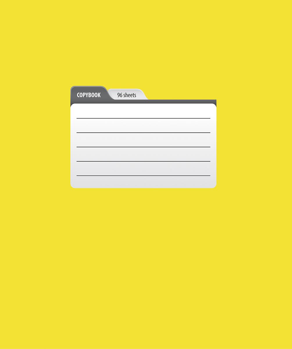 Magic Lines Тетрадь Пантон 96 листов в линейку цвет желтый96OO5M1PANЯркая печать обложки, ламинация обложки гарантирует увеличенный срок службы тетради, скругленные уголки и белоснежный внутренний блок с четкой линовкой.
