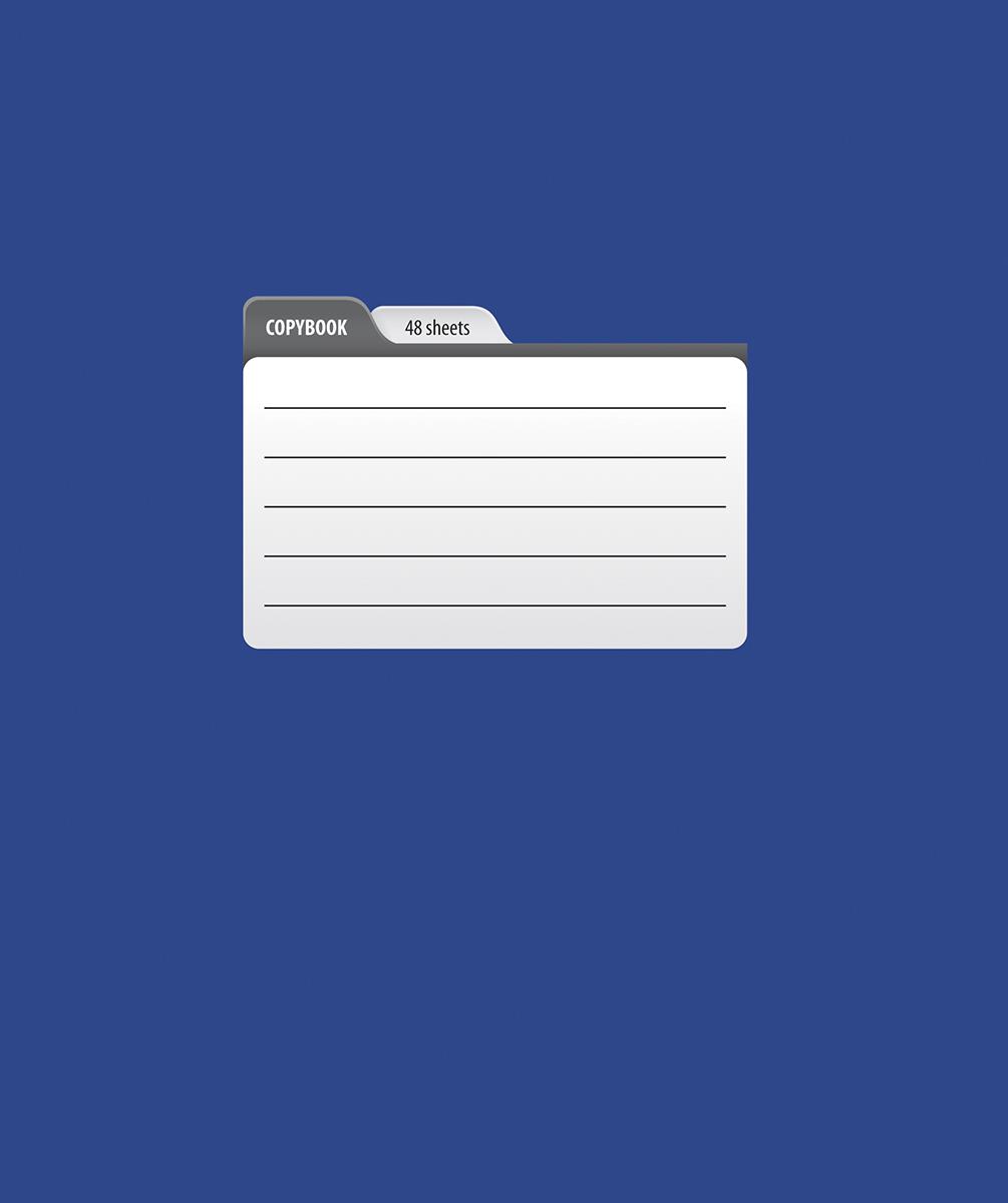 Magic Lines Тетрадь Пантон 48 листов в клетку цвет синий48OO5M5PANЯркая печать обложки, ламинация обложки гарантирует увеличенный срок службы тетради, скругленные уголки и белоснежный внутренний блок с четкой линовкой.