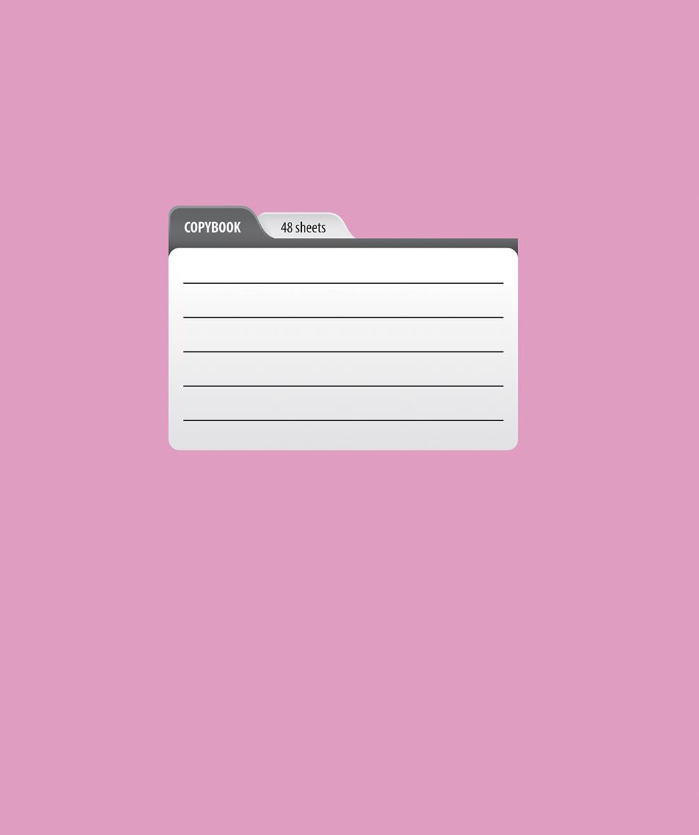 Magic Lines Тетрадь Пантон 48 листов в клетку цвет розовый48OO5M5PANЯркая печать обложки, ламинация обложки гарантирует увеличенный срок службы тетради, скругленные уголки и белоснежный внутренний блок с четкой линовкой.