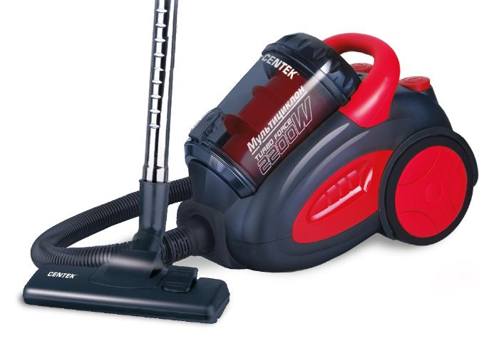 Centek CT-2520, Black Red пылесос мультиварка centek ct 1496 black steel