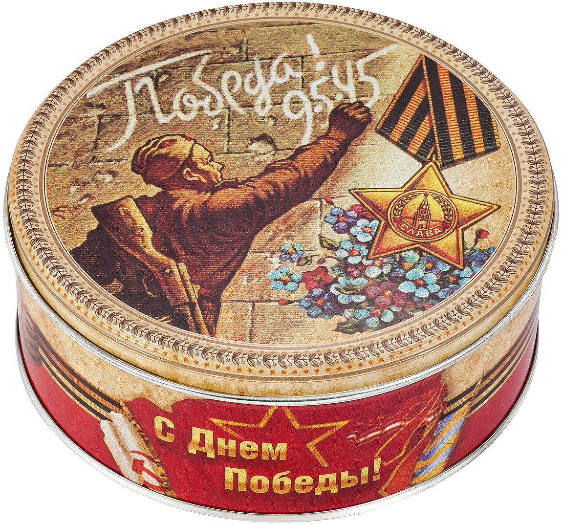 Monte Cristo День победы печенье сдобное, 150 г сладкая сказка печенье дед мороз и снегурочка 400 г