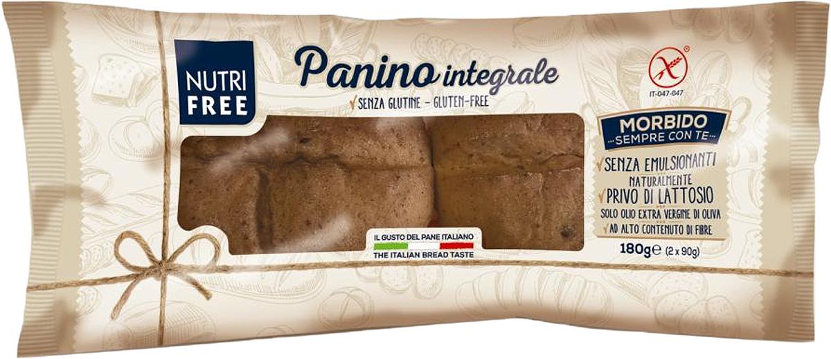 Nutrifree Panino Integrale булочки многозерновые, 180 г nutrifree mini crackers мини крекеры 240 г