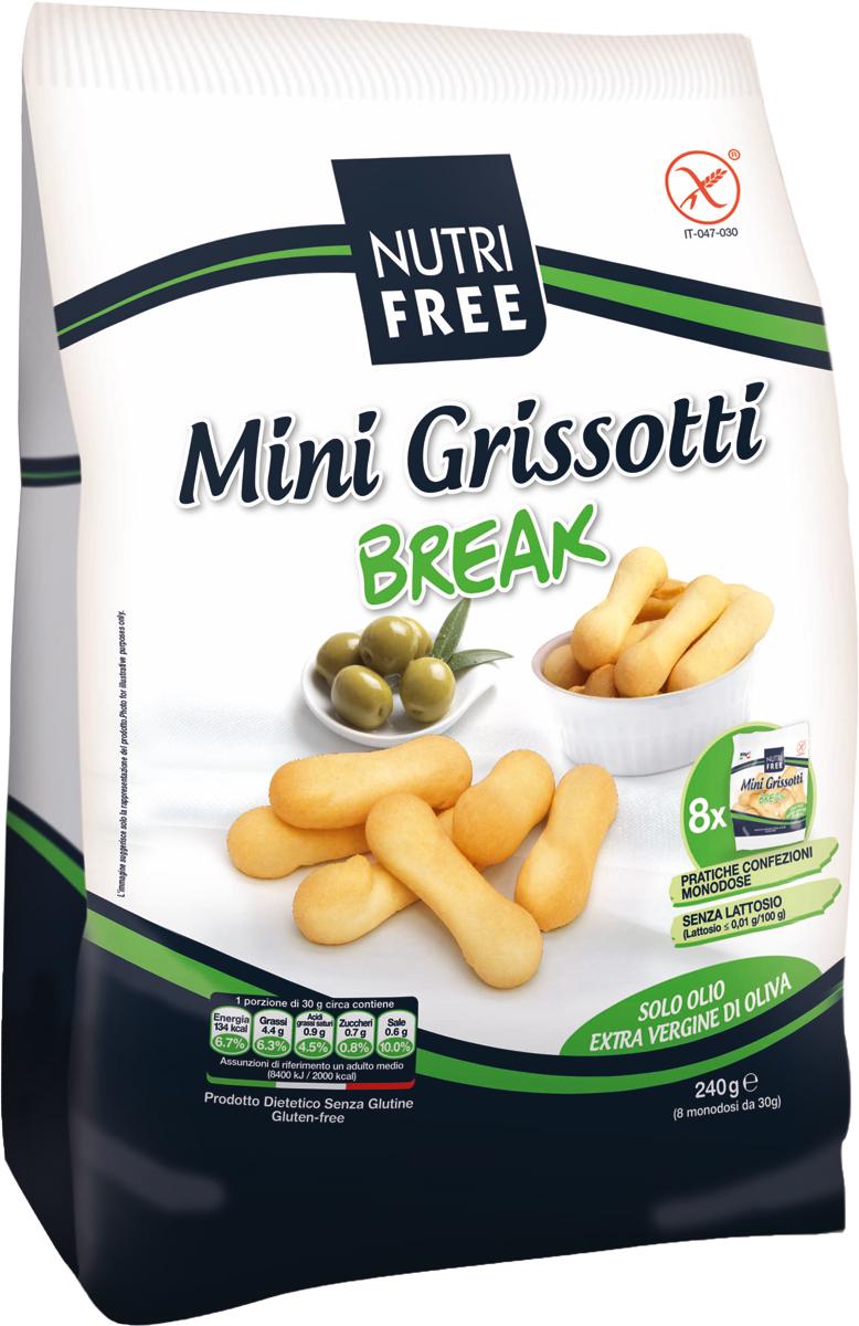 Хлебные палочки в индивидуальной упаковке по 30 грамм, 8 шт. Не содержит глютен, лактозу, белок