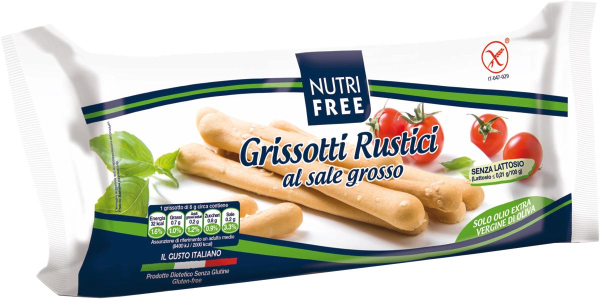 Хлебные палочки с солью без содержания глютена, лактозы, белка