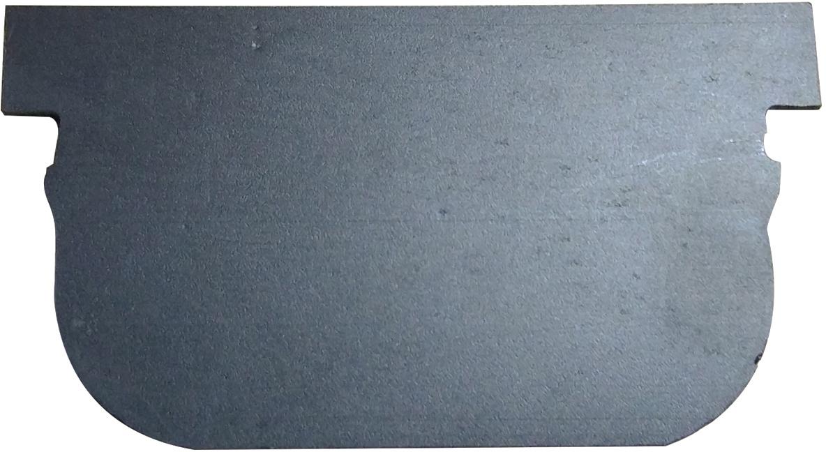 Заглушка пластиковая черного цвета. Устанавливается в конце линии водоотводного лотка серии Spark DN100.