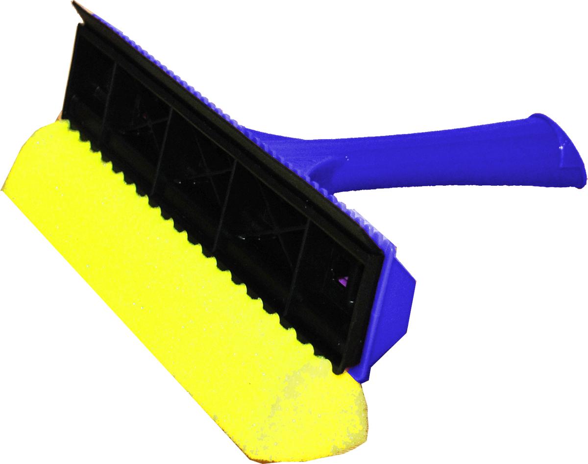 Стеклоочиститель Svip, цвет: синийSV3057СБ-23PSУдобный и практичный стеклоочиститель Svipпредназначен для качественной и удобной мойка окон. Стеклоочистительс одной стороны оснащен поролоновой губкой для тщательного отмывания, а с другой - резиновой кромкой, с помощью которой легко собрать всю влагу, оставив стекло зеркально чистым и без разводов.