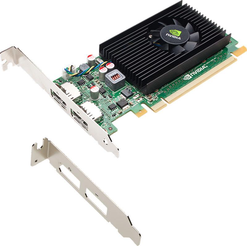 PNY NVIDIA NVS 310 1GB видеокарта (VCNVS310DP-1GB-PB)VCNVS310DP-1GB-PBПовысьте производительность вашего предприятия с помощью графического решения с двумя дисплеями PNY NVIDIA NVS 310. Эта графическая плата обеспечивает надежную аппаратную и программную платформу, обеспечивающую быструю, экономичную интеграцию, развертывание и поддержку на крупных предприятиях. Каждая плата NVS 310 оснащена DisplayPort 1.2, технологией NVIDIA Mosaic и программным обеспечением для управления настольными системами NVIDIA NVIEW и может управлять двумя 30-разрядными дисплеями с разрешением до 2560x1600 с частотой 60 Гц. Это позволяет профессионалам бизнеса максимизировать производительность за счет увеличения своей настольной недвижимости и использования передовых инструментов управления приложениями. Кроме того, каждый NVS 310 протестирован на ведущих бизнес-приложениях и разработан с идеальным балансом производительности и мощности для удовлетворения потребностей самого требовательного бизнес-пользователя.Технология управления питанием NVIDIA снижает общие затраты на электроэнергию системы. Он интеллектуально адаптирует общее использование мощности графической подсистемы на основе приложений, выполняемых конечным пользователем. Этот оптимизированный по мощности дизайн помогает снизить общую стоимость владения (TCO) и повысить надежность.