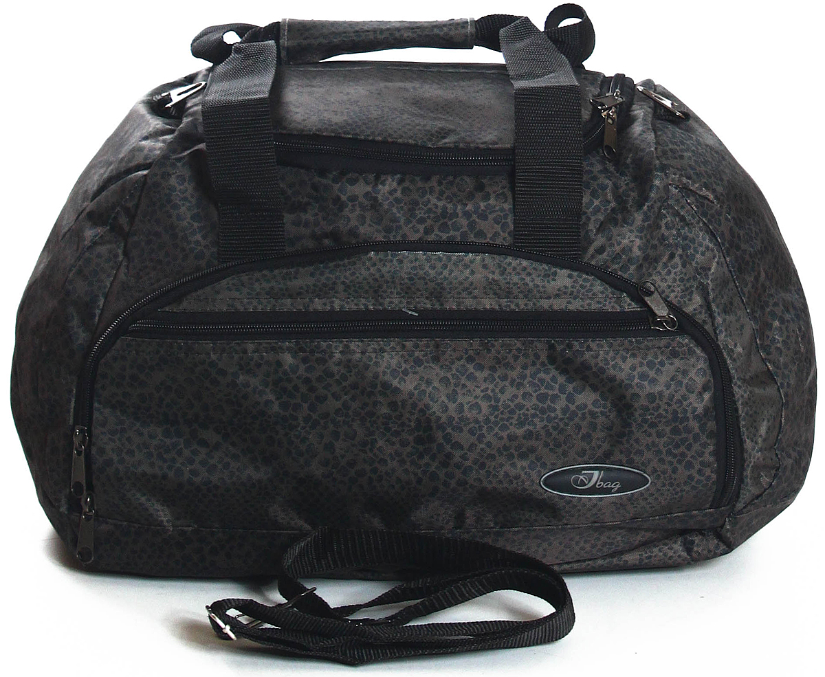 Сумка дорожная Ibag, цвет: серый, 31 л62011 Кожа змеиТекстильная дорожно-спортивная сумка ibag удивит своим интересным, но в то же время простым дизайном. Очень практична и удобна при использовании. Одно вместительное отделение и два наружных кармана на молнии. Внутри так же есть потайной карман на молнии, в котором Ваши ценные вещи останутся в сохранности. В комплекте тканевый плечевой ремень с регулятором по длине.
