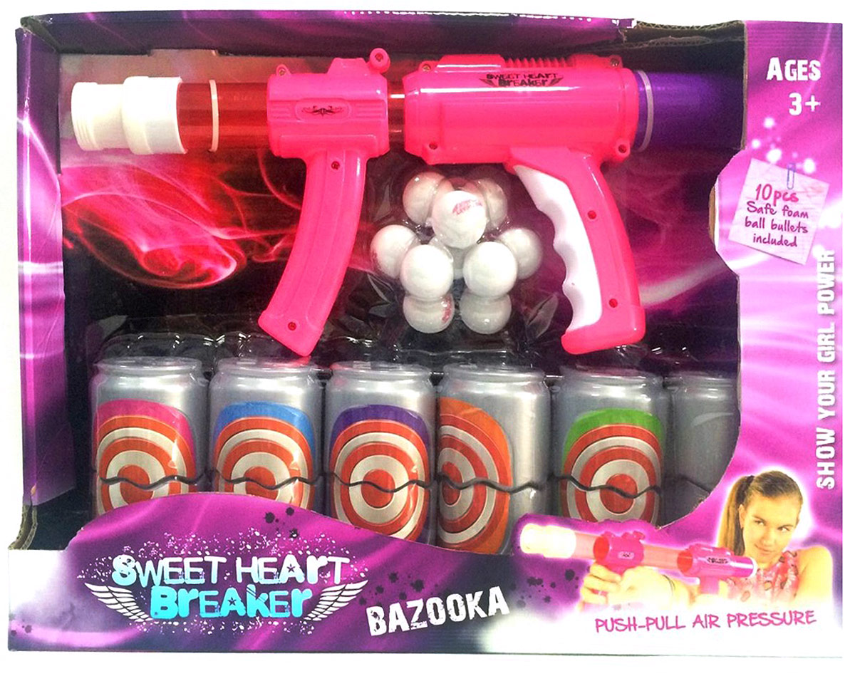 Toy Target Игрушечное оружие Sweet Heart Breaker 22021