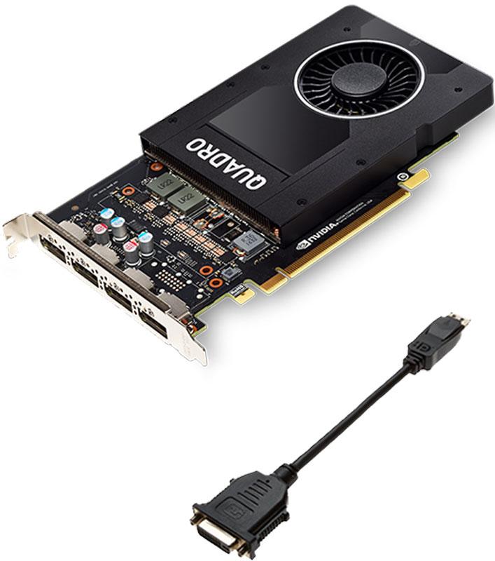 PNY NVIDIA Quadro P2000 5GB видеокарта (VCQP2000-PB)